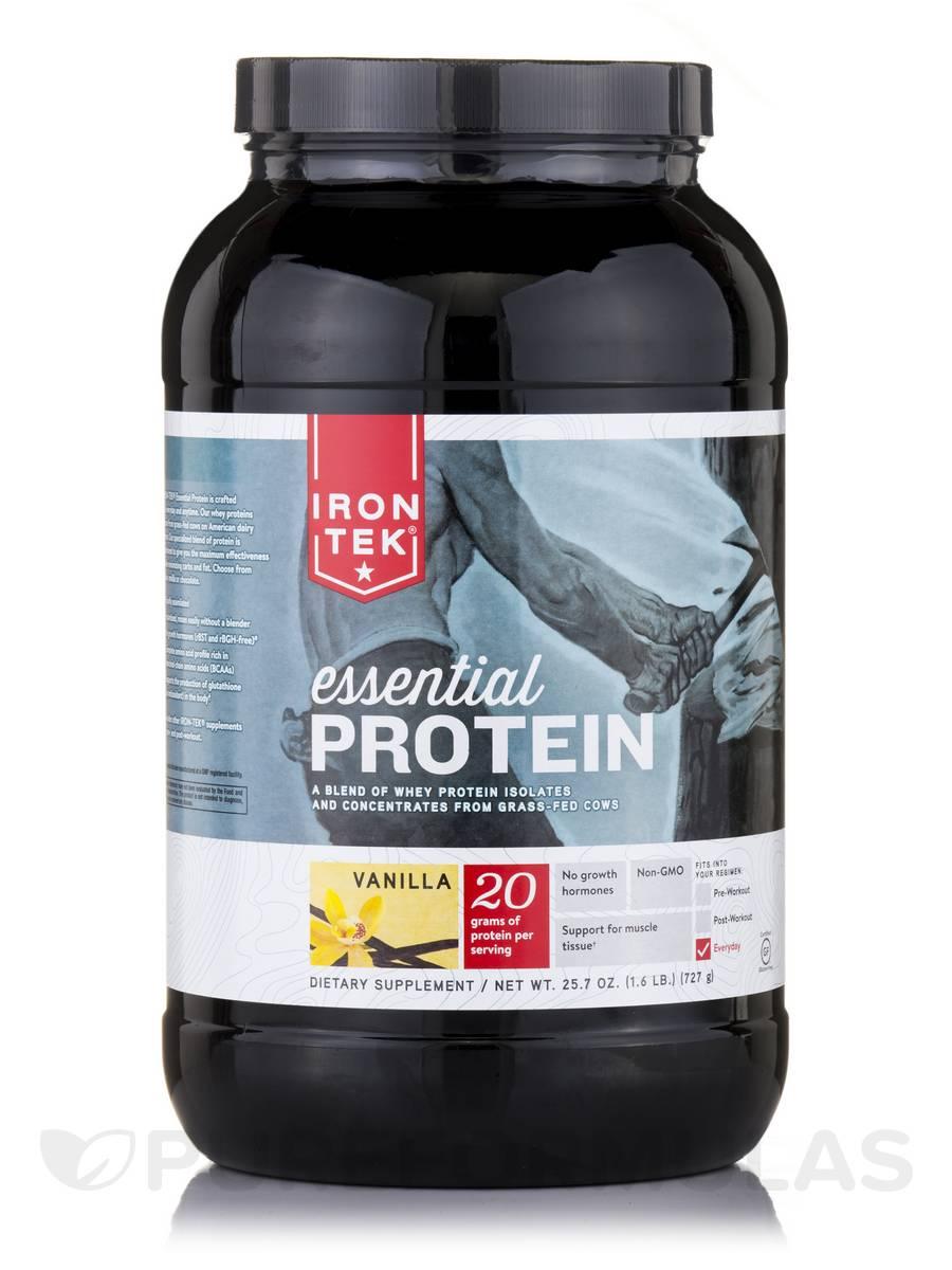 Essential Protein Vanilla - 28 Servings (25.7 oz / 727 Grams)