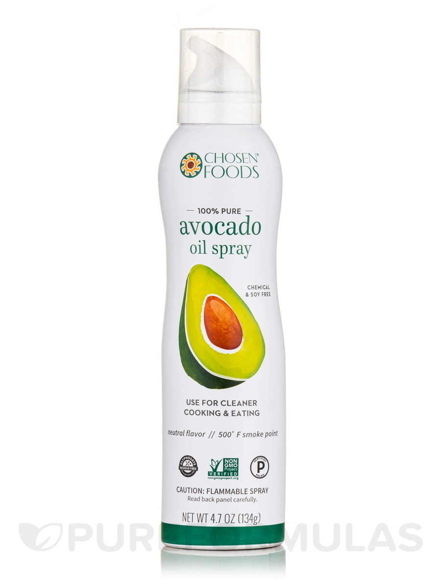 100% Pure Avocado Oil Spray - 4.7 oz (134 Grams)