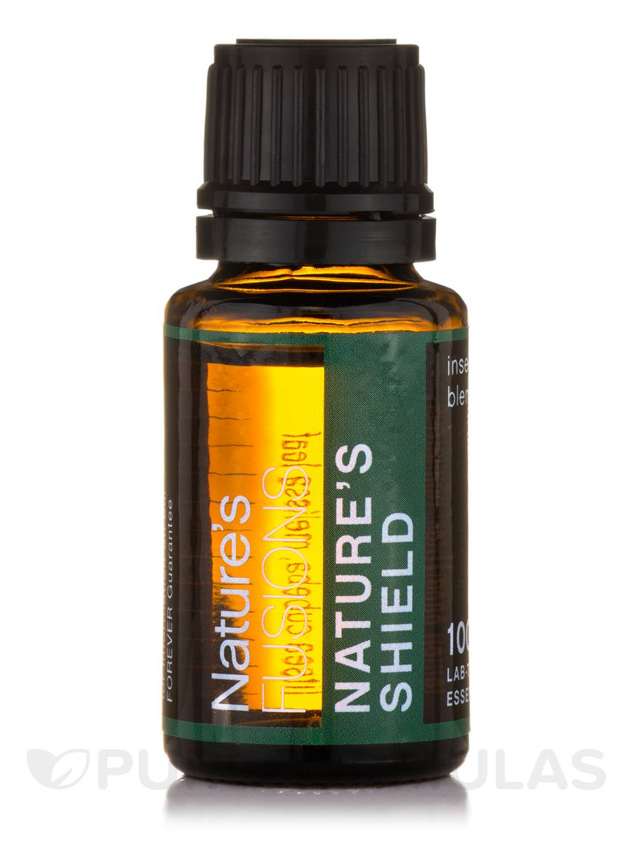 100% Pure Nature's Shield, Insect Repellant Blend - 15 ml