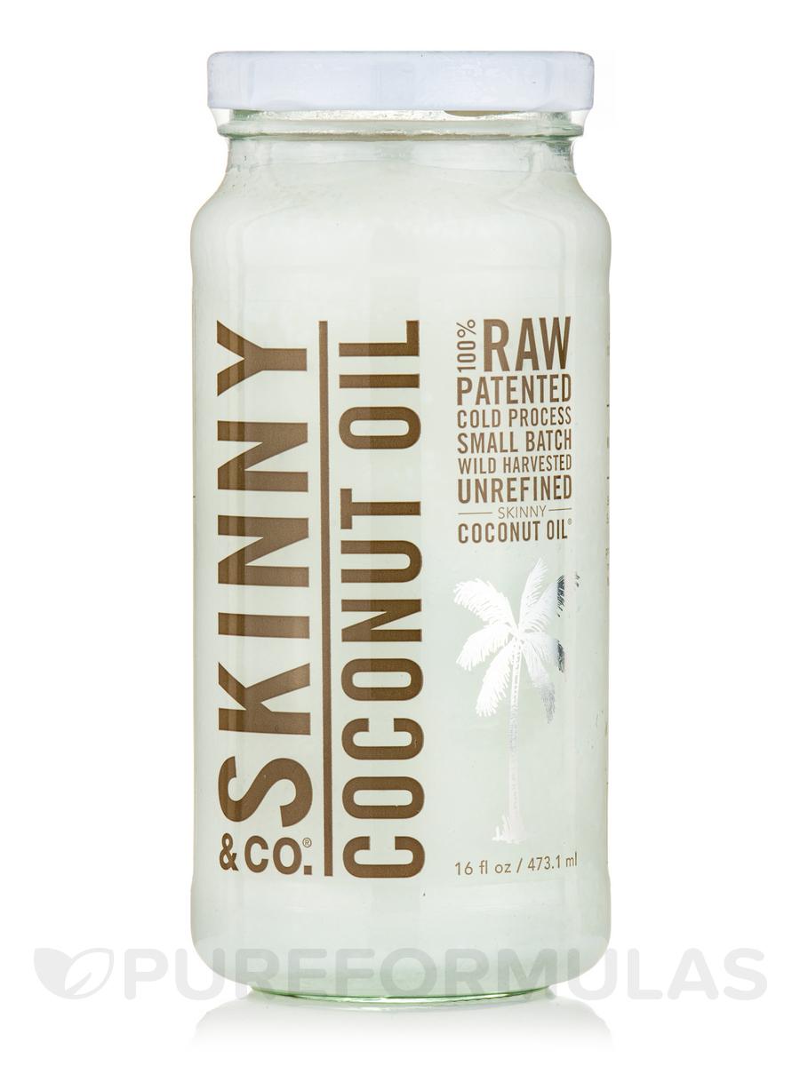 100% Raw Coconut Oil - 16 fl. oz (473.1 ml)