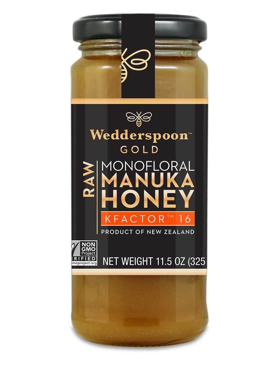 100% Raw Monofloral Manuka Honey KFactor™ 16 - 11.5 oz (325 Grams)