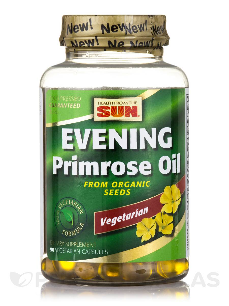 100% Vegetarian Evening Primrose Oil - 90 Vegetarian Capsules
