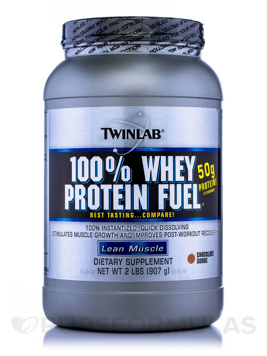 100% Whey Protein Fuel Chocolate Surge - 2 lbs (907 Grams)