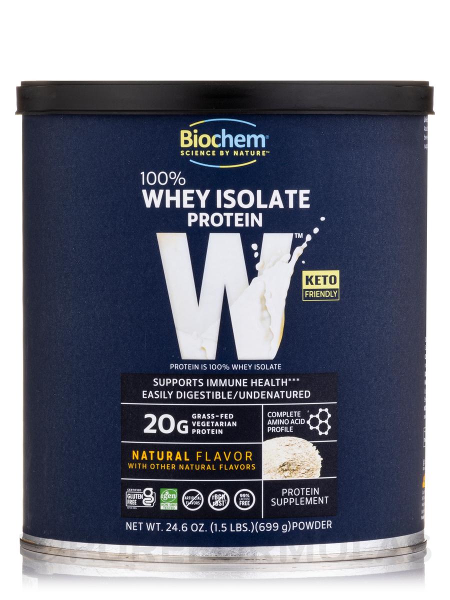 100% Whey Protein Powder, Natural Flavor - 24.6 oz (699 Grams)