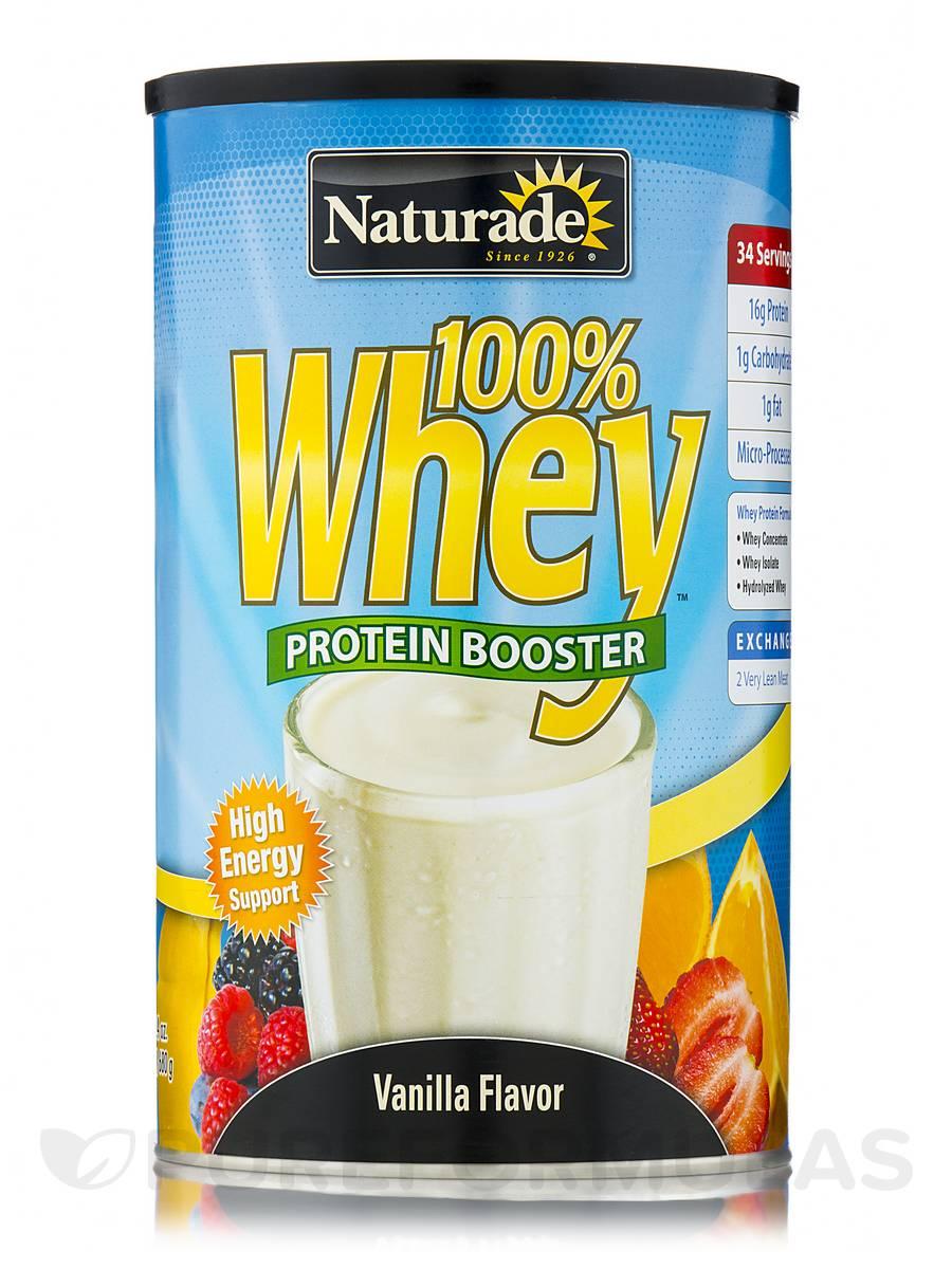 100% Whey Protein Vanilla - 24 oz (680 Grams)