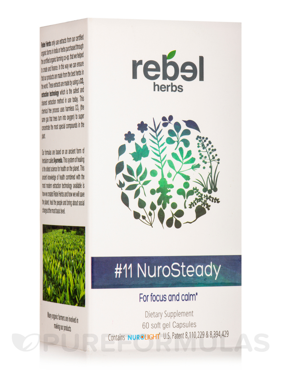 #11 NuroSteady Capsules - 60 Soft Gel Capsules