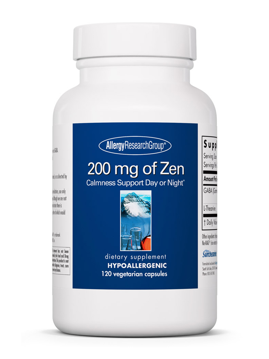 200 mg of Zen - 120 Vegetarian Capsules