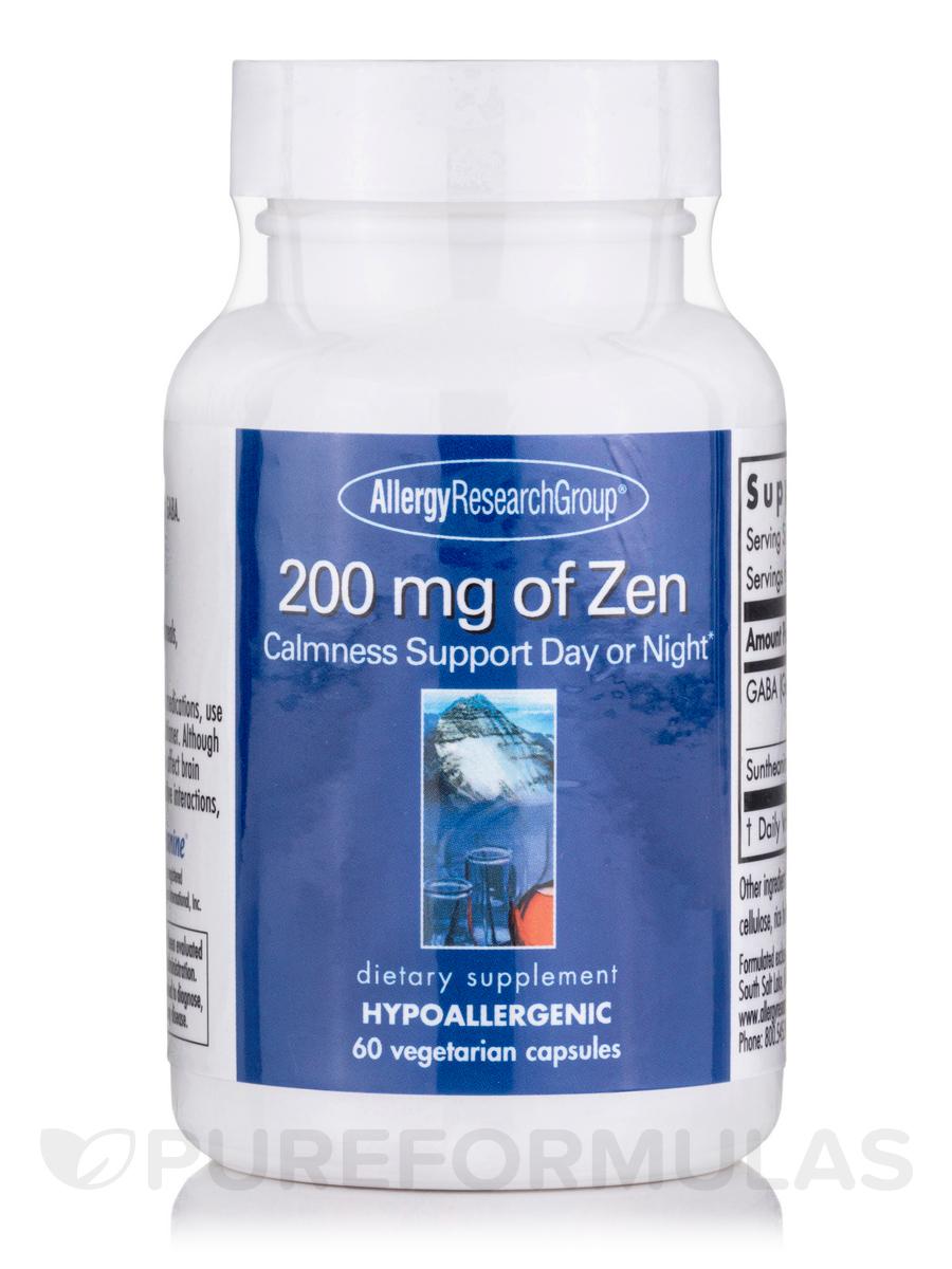 200 mg of Zen - 60 Vegetarian Capsules