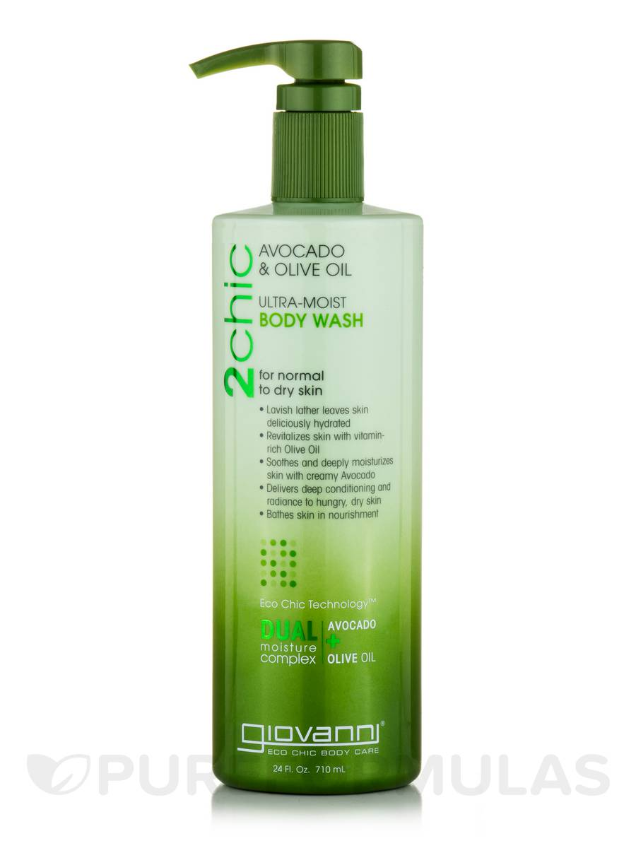 2chic Ultra-Moist Body Wash for Normal to Dry Skin - 24 fl. oz (710 ml)