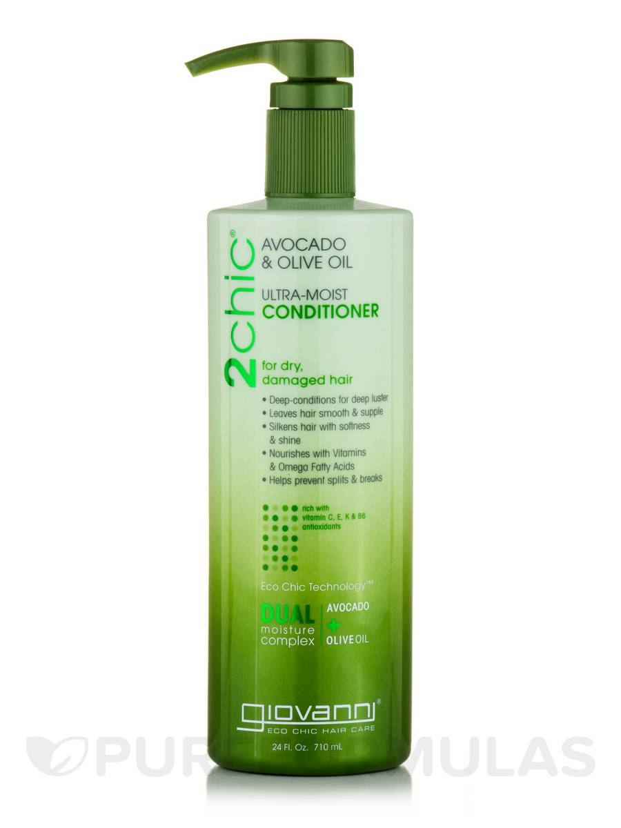 2chic Ultra-Moist Conditioner for Dry, Damaged Hair - 24 fl. oz (710 ml)