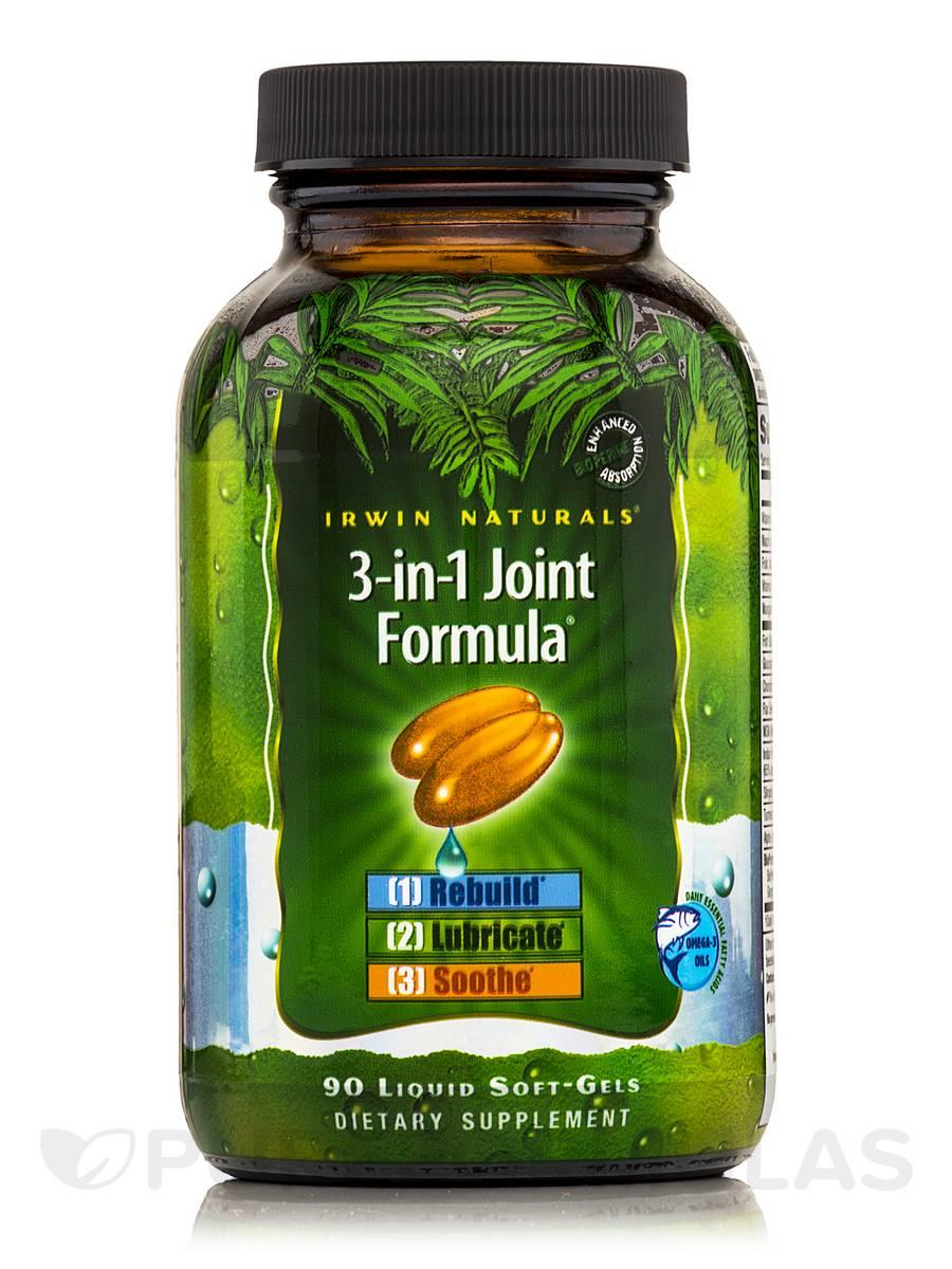 3-in-1 Joint Formula - 90 Liquid Soft-Gels