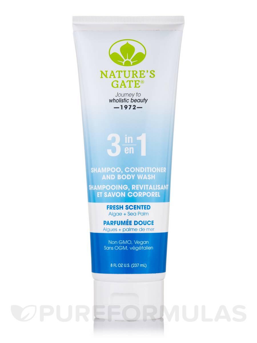 3 in 1 Shampoo, Conditioner and Body Wash - 8 fl. oz (237 ml)