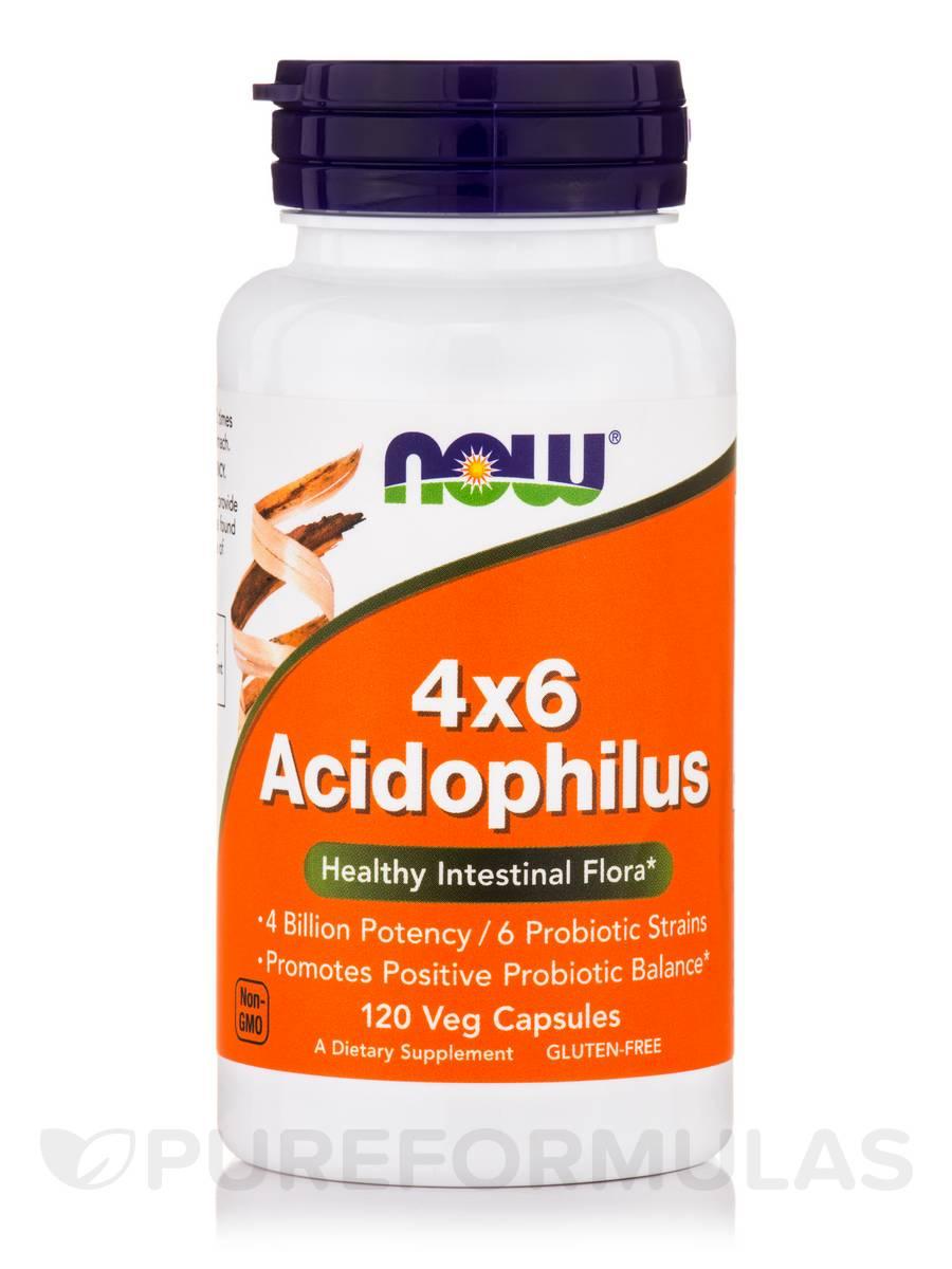 4x6 Acidophilus - 120 Veg Capsules