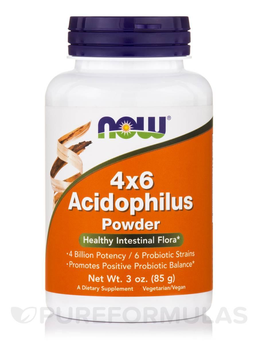 4x6 Acidophilus Powder - 3 oz (85 Grams)