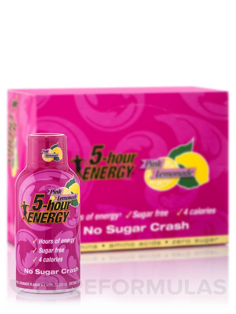 5-Hour ENERGY Pink Lemonade - 12 Count ( 2.5 oz each)