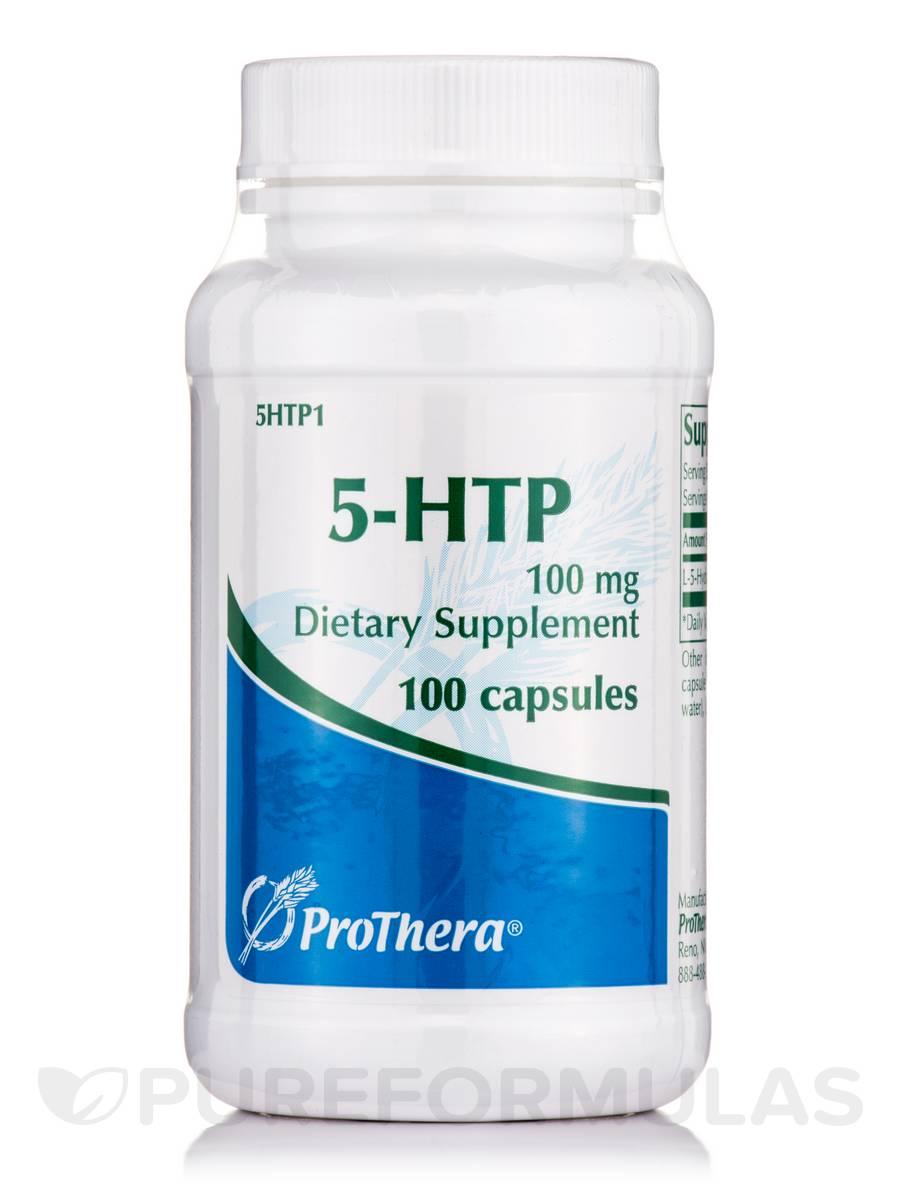 5-HTP 100 mg - 100 Capsules