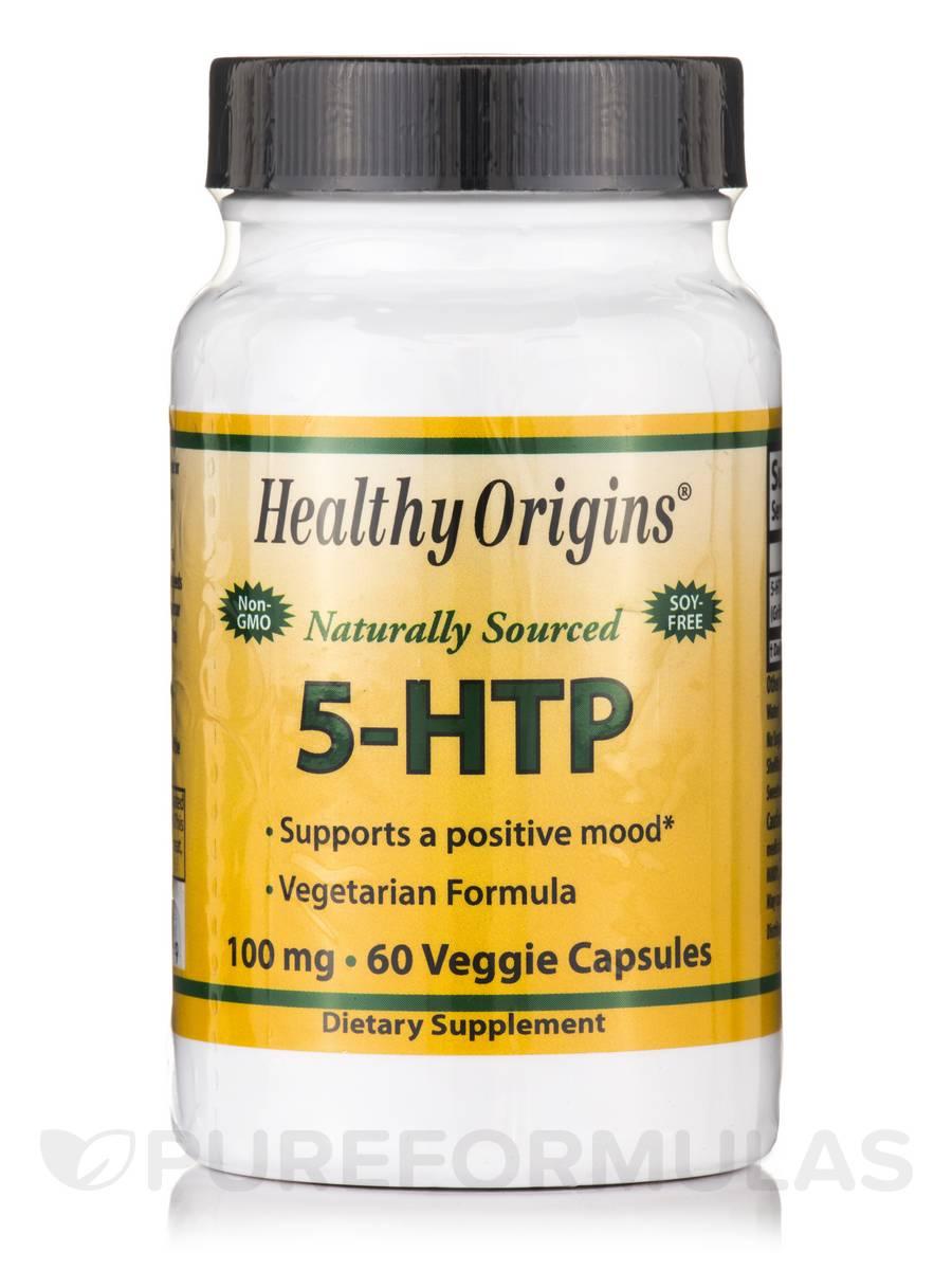 5-HTP 100 mg - 60 Veggie Capsules