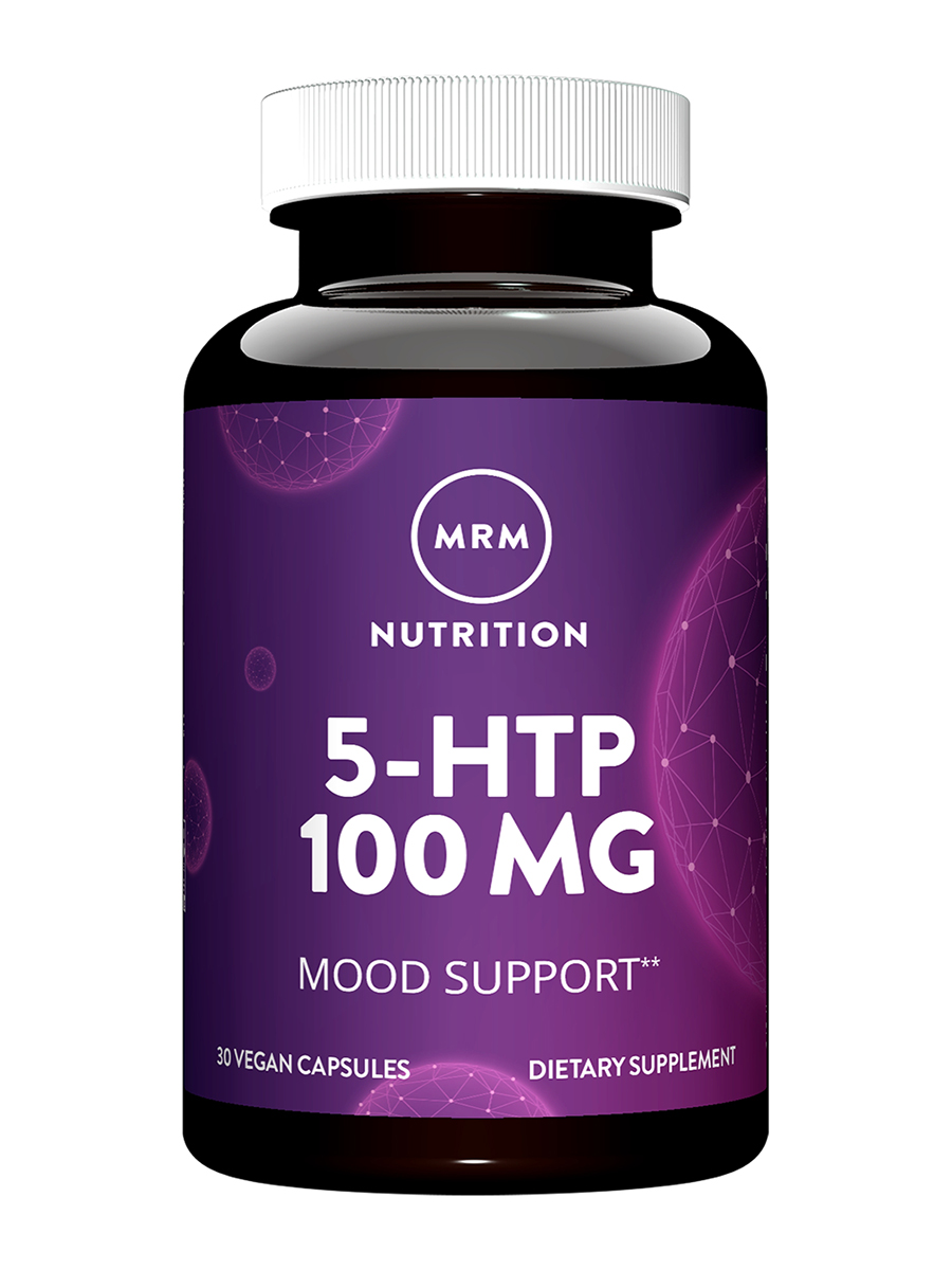 5-HTP 100 mg (Griffonia Bean Extract) - 30 Vegetarian Capsules