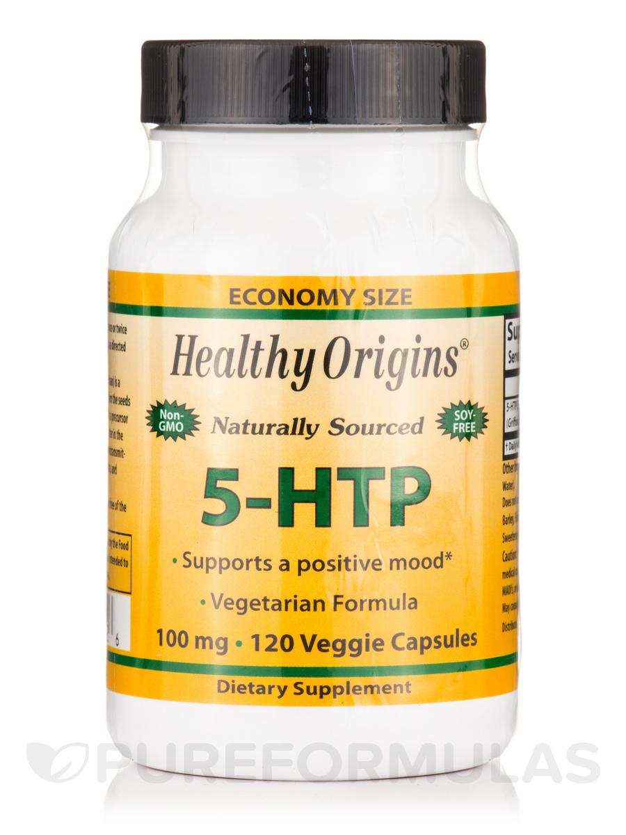 5-HTP 100 mg - 120 Veggie Capsules