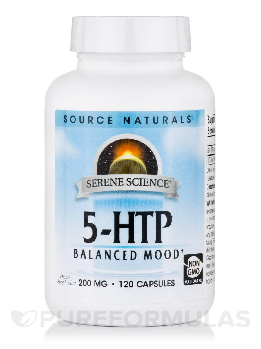 5-HTP 200 mg - 120 Capsules