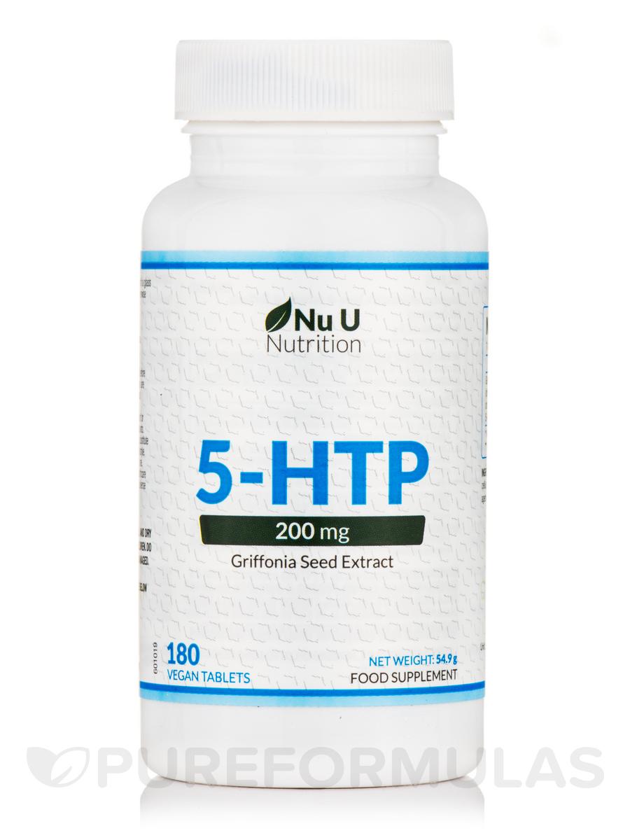 5-HTP 200 mg - 180 Vegan Tablets