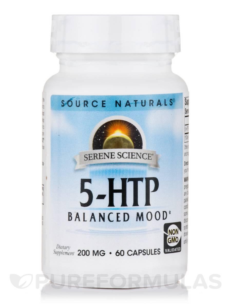 5-HTP 200 mg - 60 Capsules