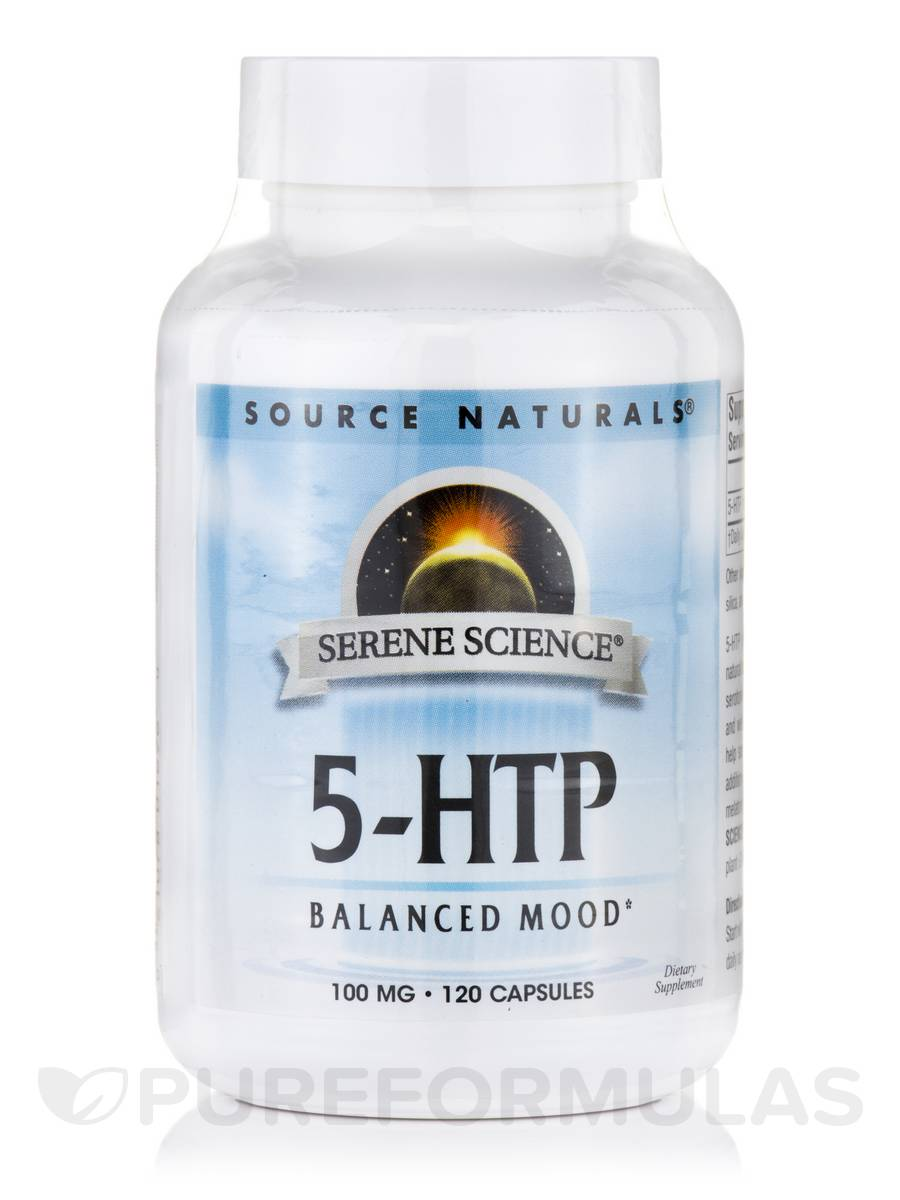 Serene Science® 5-HTP 100 mg - 120 Capsules