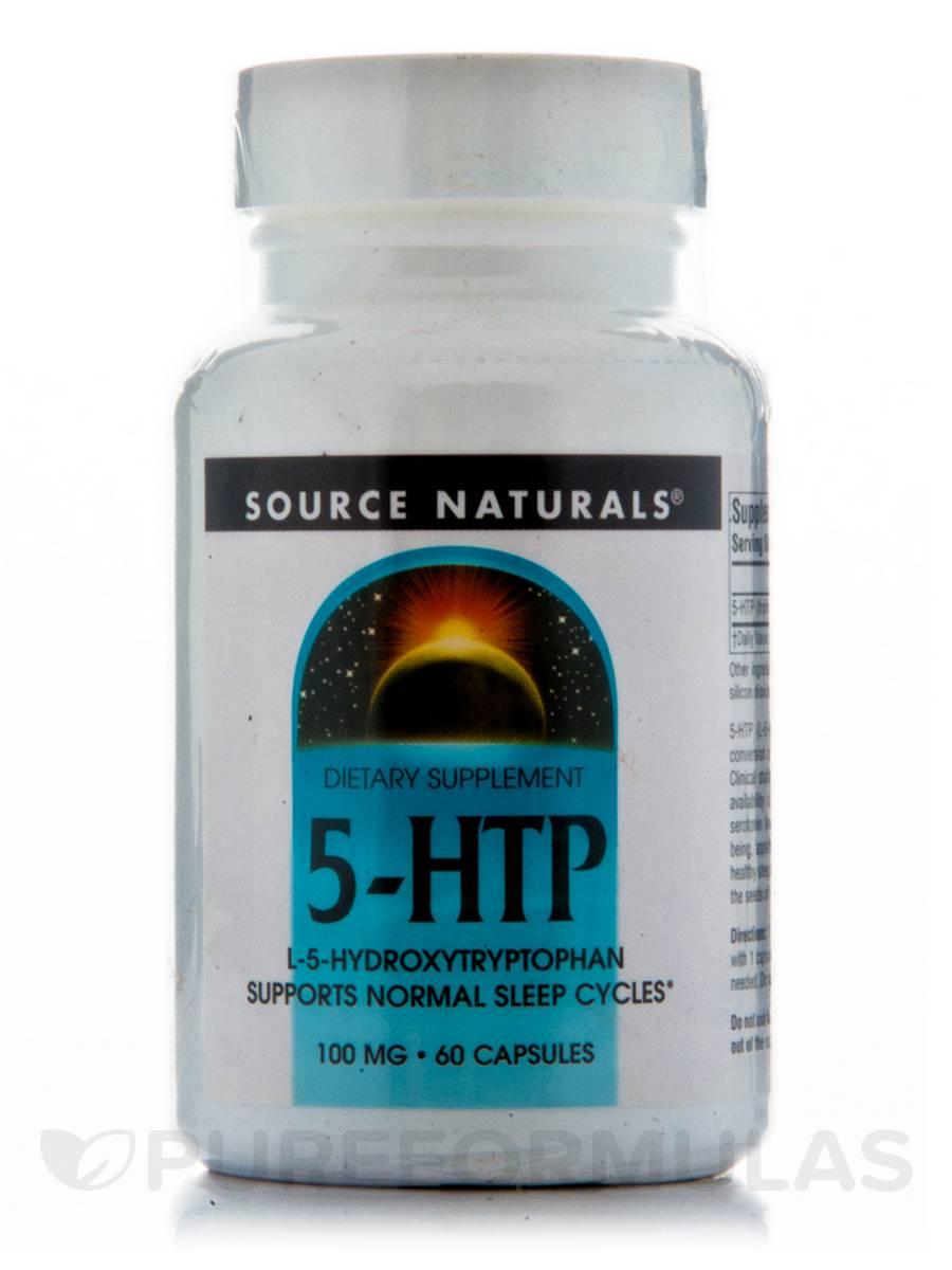 5-HTP 100 mg - 60 Capsules