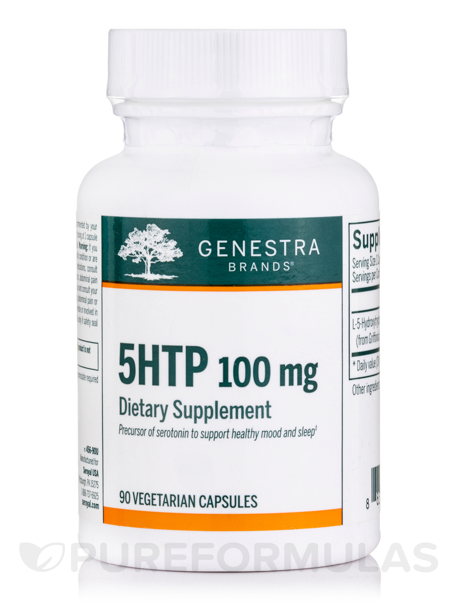 5HTP 100 mg - 90 Vegetable Capsules