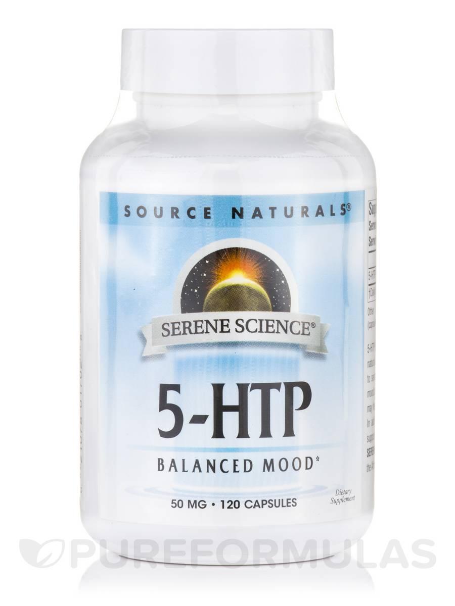 5-HTP 50 mg - 120 Capsules