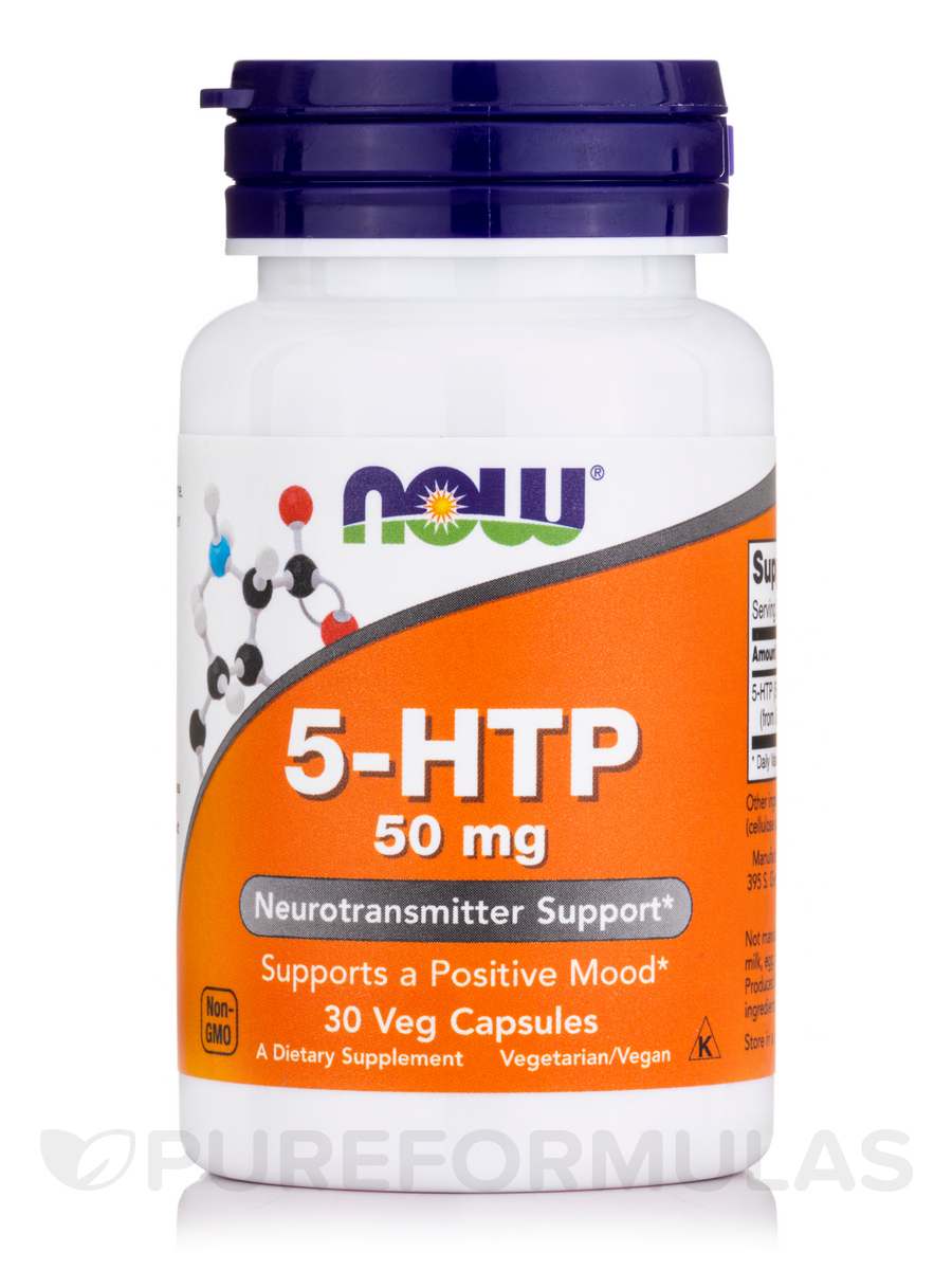5-HTP 50 mg - 30 Veg Capsules