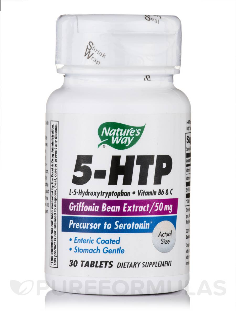 5-HTP 50 mg - 30 Tablets