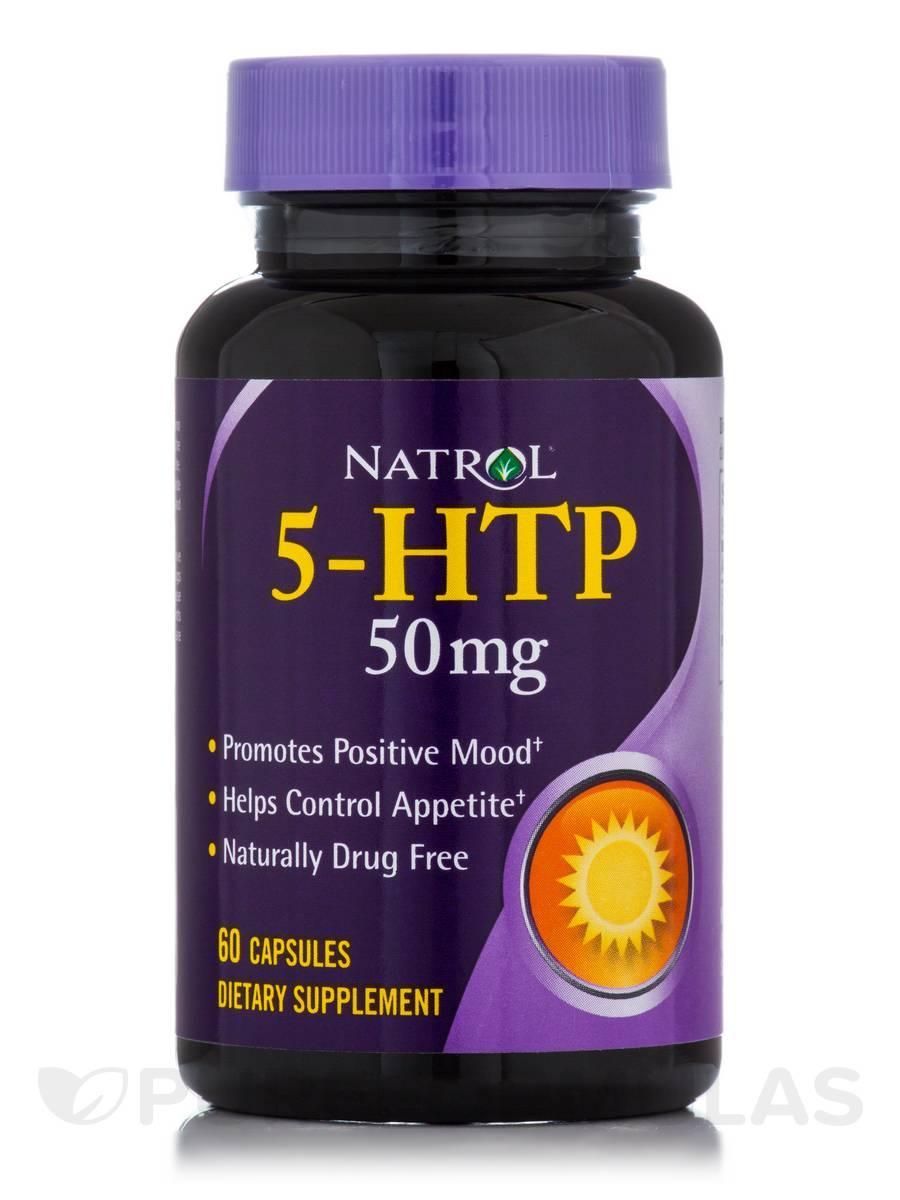 5-HTP 50 mg - 60 Capsules