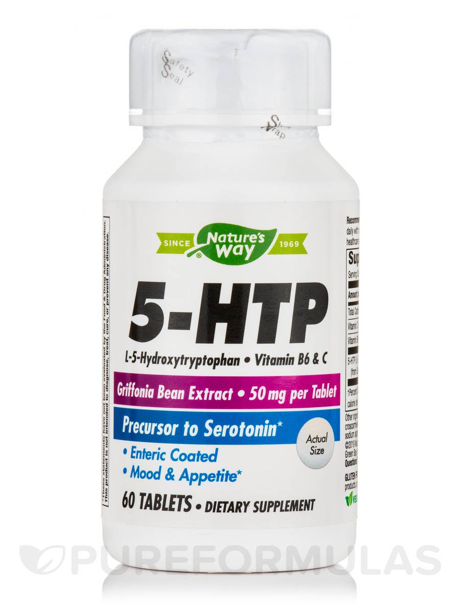 5-HTP 50 mg - 60 Tablets