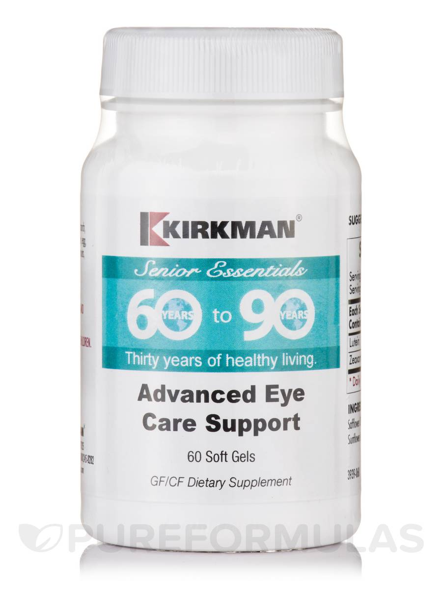 60 to 90 Advanced Eye Care Support - 60 Soft Gels