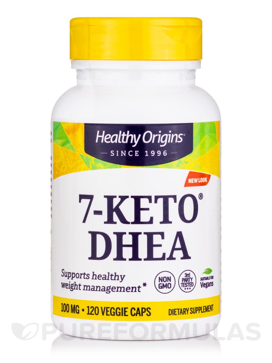 7-KETO 100 mg - 120 Vegetarian Capsules