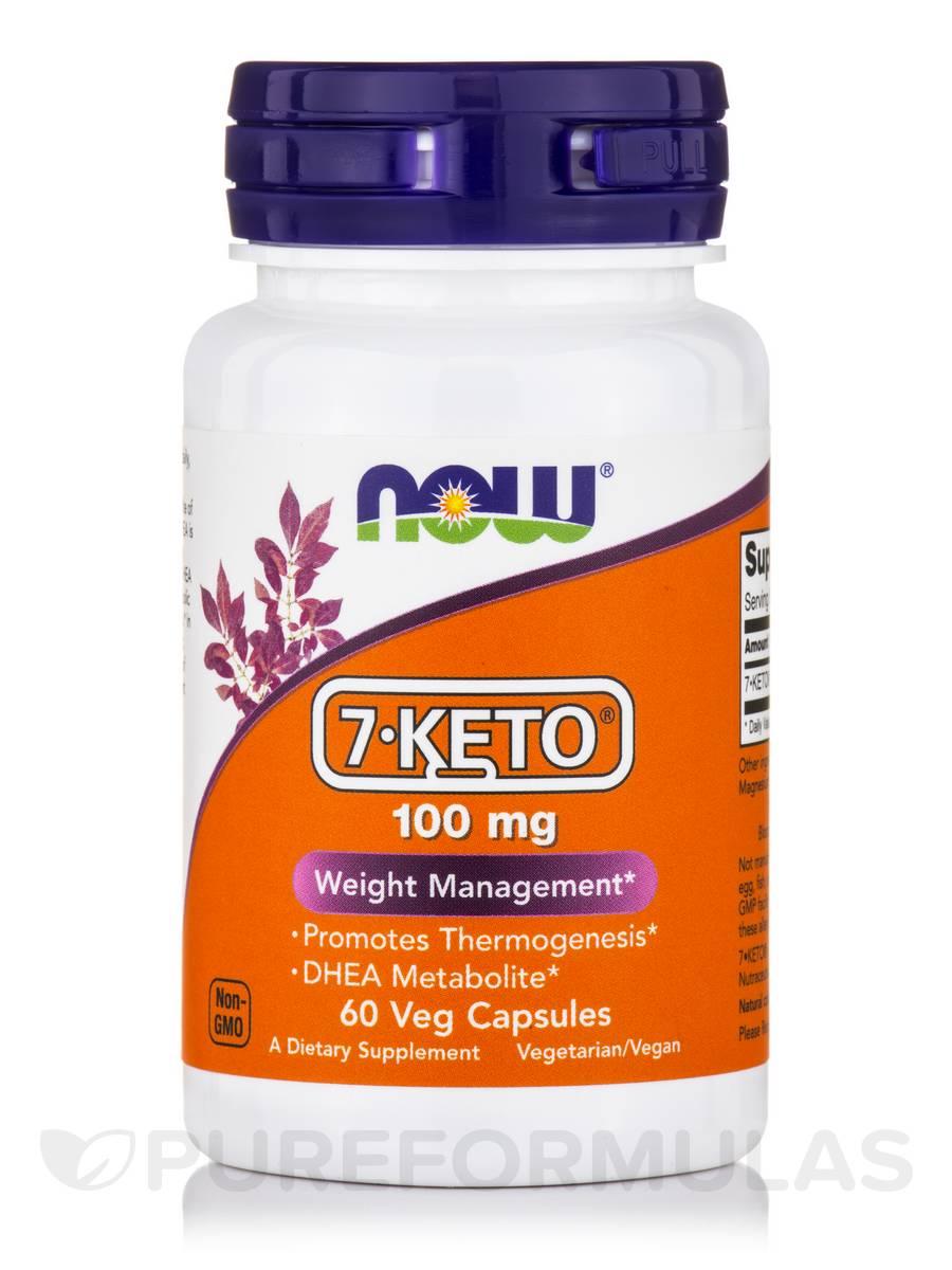 7 KETO 100 mg - 60 Vegetarian Capsules