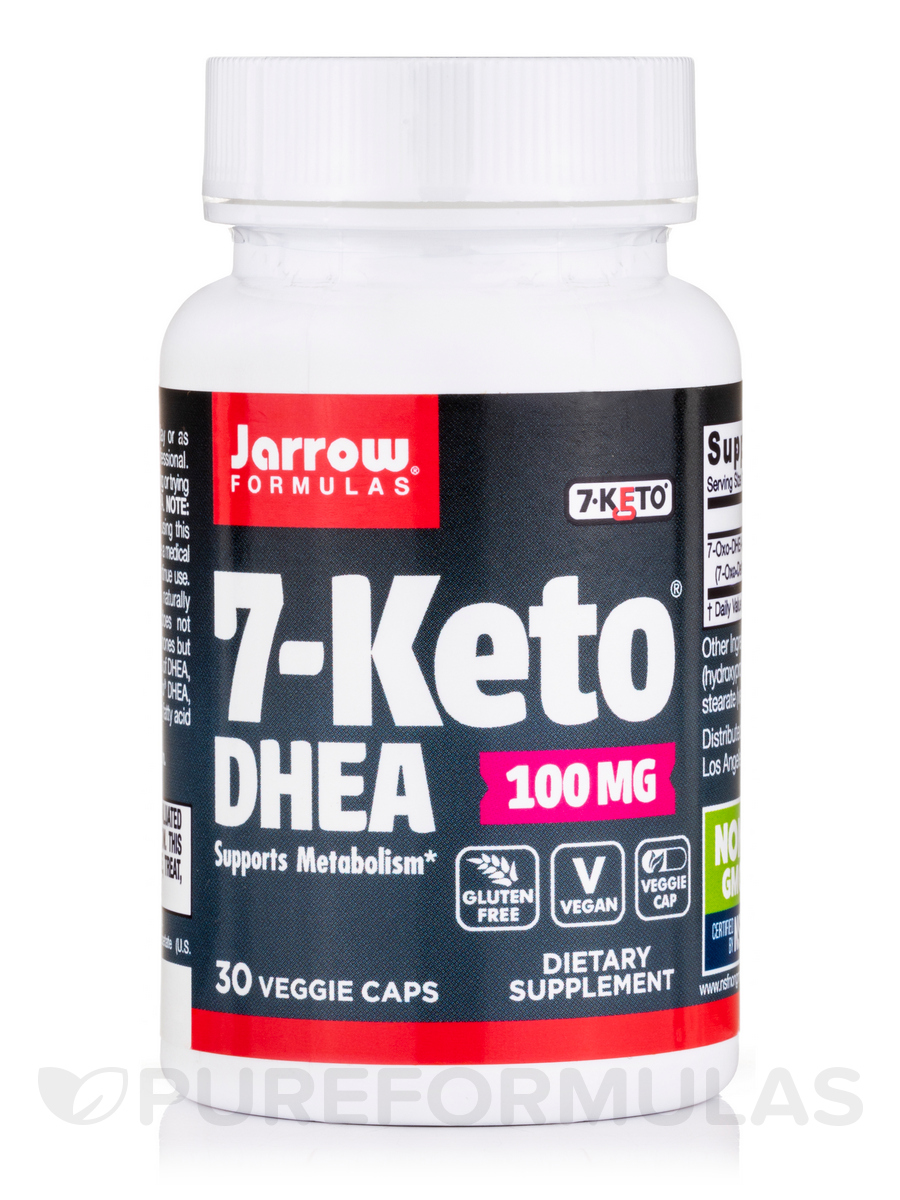 7 Keto DHEA 100 mg - 30 Capsules