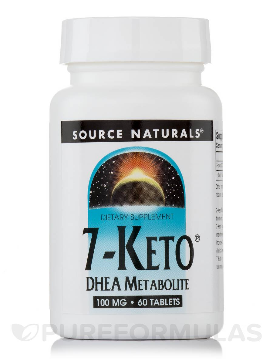 7-Keto DHEA 100 mg - 60 Tablets