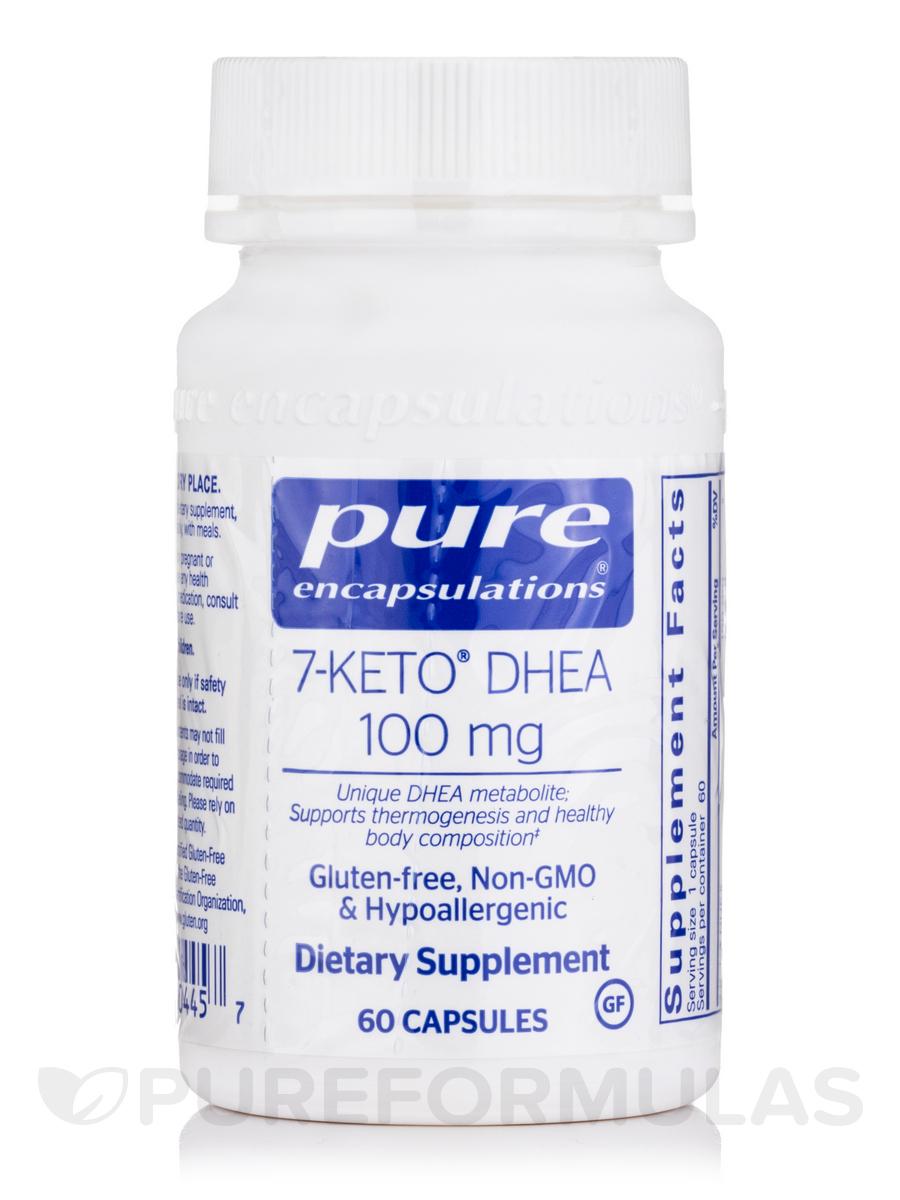 7-KETO DHEA 100 mg - 60 Capsules