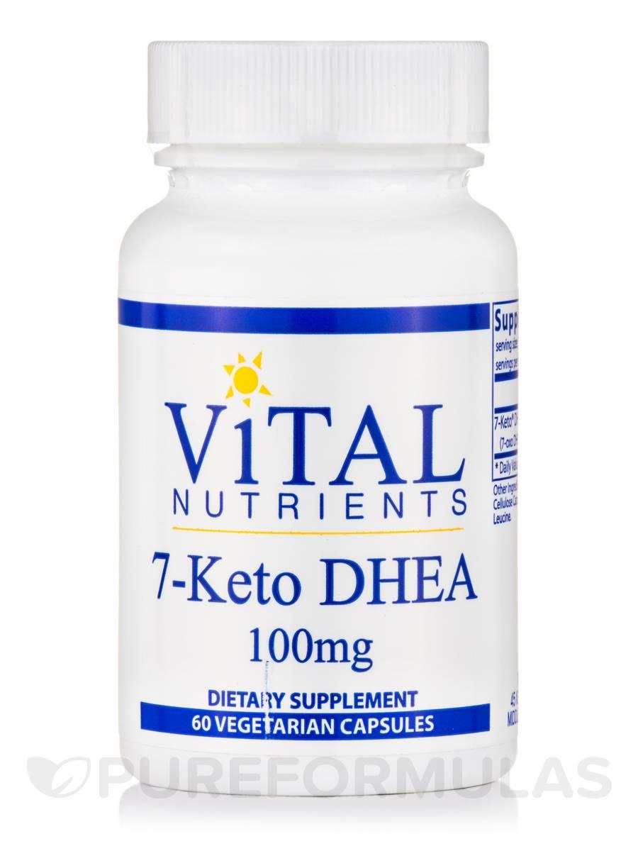 7-Keto® DHEA 100 mg - 60 Capsules
