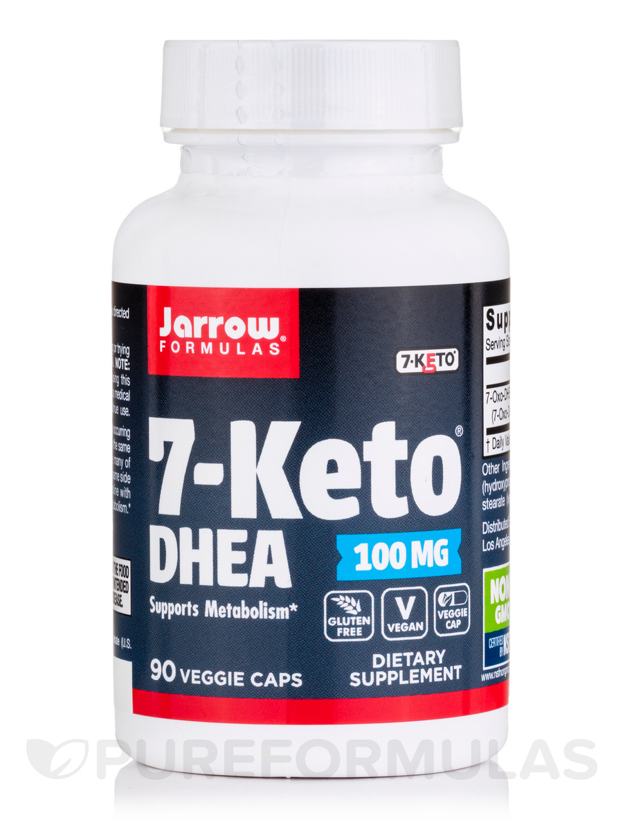 7-Keto DHEA 100 mg - 90 Capsules