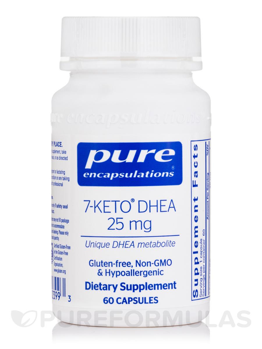 7-Keto® DHEA 25 mg - 60 Capsules