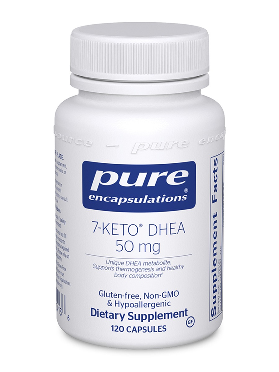 7-KETO™ DHEA (DHEA-Acetate-7-One) 50 mg - 120 Capsules