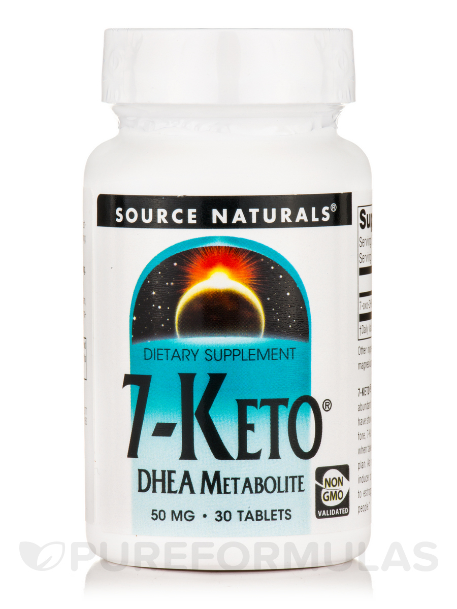 7-Keto DHEA 50 mg - 30 Tablets