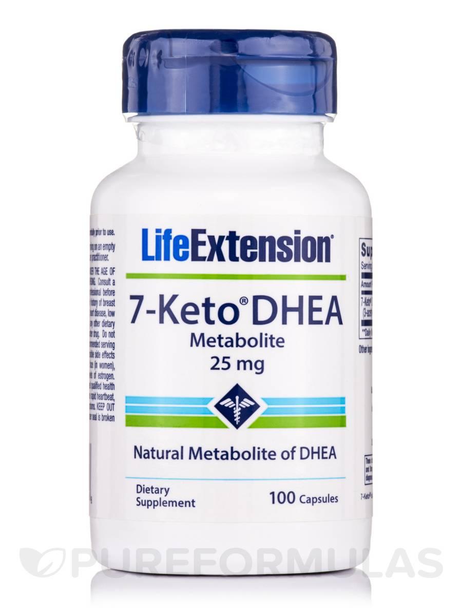 7-Keto DHEA Metabolite 25 mg - 100 Capsules