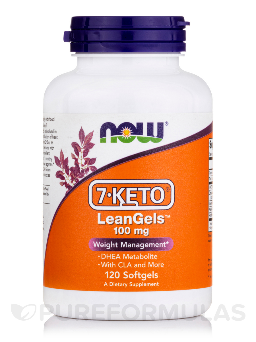 7-KETO® LeanGels™ 100 mg - 120 Softgels