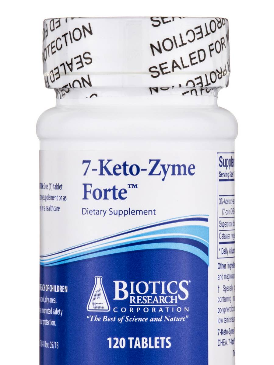 7-Keto-Zyme Forte - 120 Tablets
