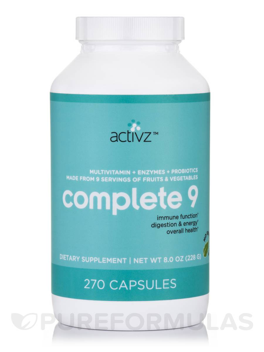 9 a Day+ - 270 Capsules