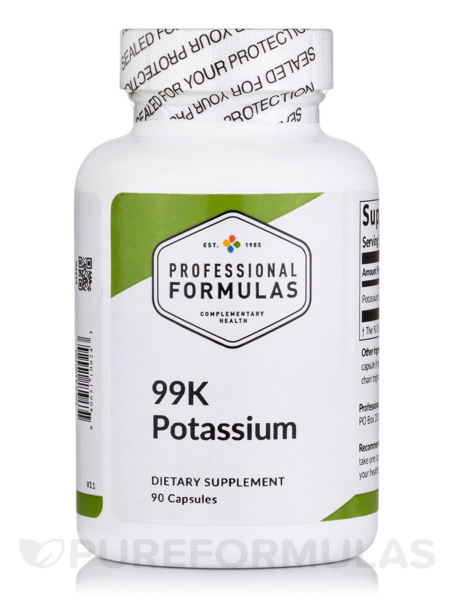 99K (Potassium) - 90 Capsules